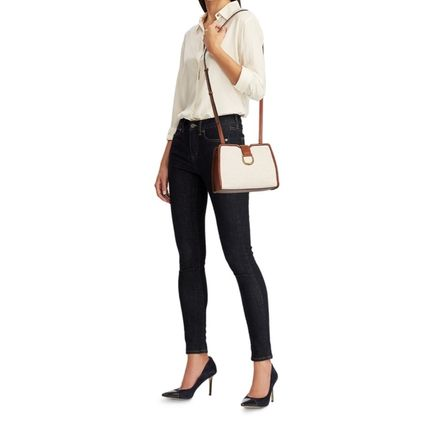 Ralph Lauren Casual Style Canvas Plain Party Style Office Style