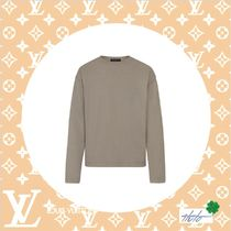 Louis Vuitton Crew Neck Pullovers Street Style Collaboration Long Sleeves