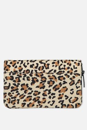 Leopard Patterns Long Wallet  Card Holders