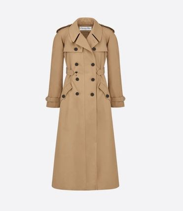 Christian Dior Formal Style  Casual Style Plain Long Office Style