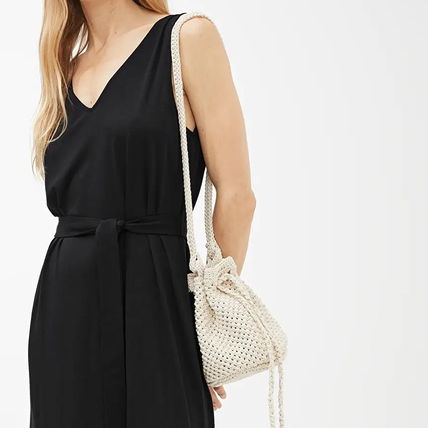 Casual Style Plain Party Style Purses Office Style