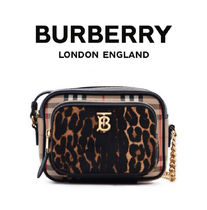 Burberry Unisex Street Style Shoulder Bags