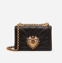Dolce & Gabbana Heart Leather Crossbody Shoulder Bags
