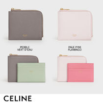 CELINE Zipped Card Holders