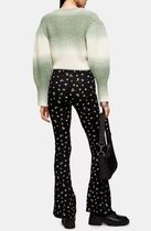 TOPSHOP Printed Pants Flower Patterns Casual Style Street Style Long