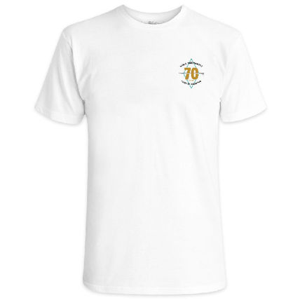Crew Neck Unisex Cotton Short Sleeves Logo