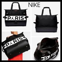 Nike AIR JORDAN Unisex Street Style Collaboration Activewear Bags