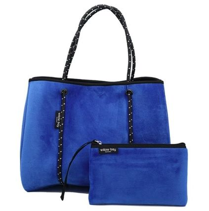 Casual Style Unisex Street Style Bag in Bag A4 Plain