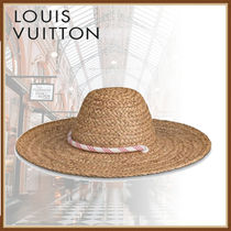 Louis Vuitton Straw Hats