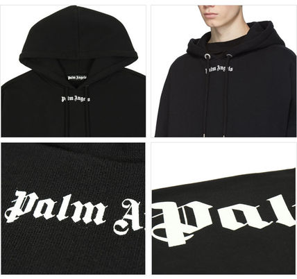 Palm Angels Hoodies Pullovers Unisex Sweat Street Style Long Sleeves Cotton 3