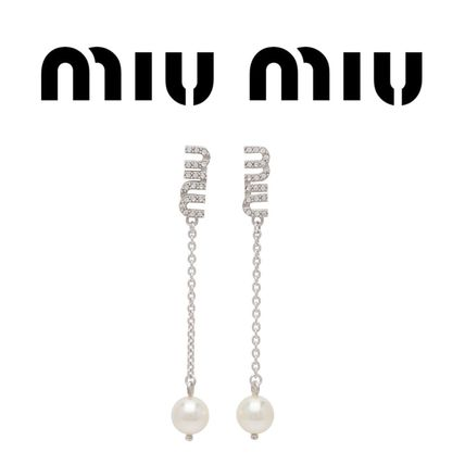 Party Style Silver Elegant Style Bridal Earrings