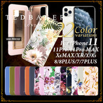 TED BAKER Flower Patterns Plain iPhone 8 iPhone 8 Plus iPhone X