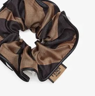 FENDI BAGUETTE Scrunchy Casual Style Party Style Office Style Elegant Style