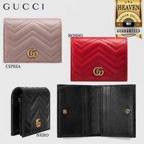 GUCCI GG Marmont Folding Wallets