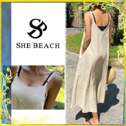 Linen Plain Long Short Sleeves Dresses