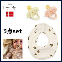Konges Slojd Organic Cotton Baby Boy Bibs & Burp Cloths