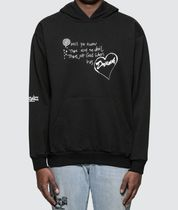 MIDNIGHT STUDIOS Pullovers Sweat Street Style Long Sleeves Cotton Hoodies
