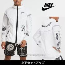Nike Blended Fabrics Street Style Co-ord Two-Piece Sets