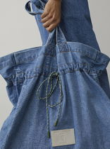 CLOSED Casual Style Unisex Denim A4 Plain Office Style Oversized