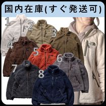 THE NORTH FACE RIMO Short Casual Style Unisex Shearling Logo Fleece Jackets