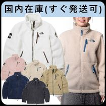 THE NORTH FACE RIMO Short Casual Style Unisex Shearling Logo Outerwear