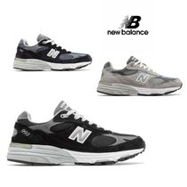 New Balance 993 Casual Style Street Style Low-Top Sneakers
