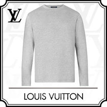 Louis Vuitton Crew Neck Long Sleeves Cotton Long Sleeve T-shirt