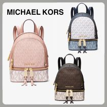 Michael Kors Unisex Street Style Backpacks