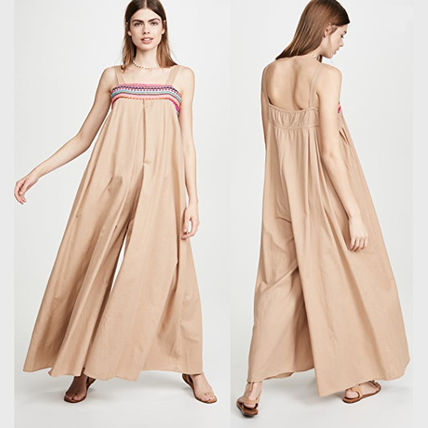 Dungarees Casual Style Long Dresses