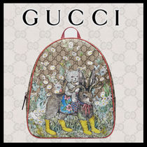 GUCCI Unisex Collaboration Bold Kids Girl Bags