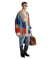 TRUNK PROJECT TRUNK PROJECT Color Mixed Wool Cardigan Jacket