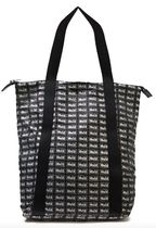 alexander mcqueen Casual Style Nylon Office Style Logo Totes