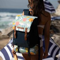 SUNNYLIFE Tropical Patterns Casual Style Party Style Backpacks