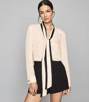 REISS Casual Style Long Sleeves Office Style Elegant Style