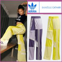 adidas Printed Pants Stripes Casual Style Street Style