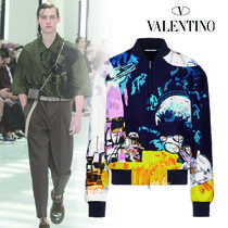 VALENTINO Short Wool Oversized Jackets