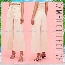 Cameo the Label Casual Style Denim Plain Cotton Medium Long Party Style