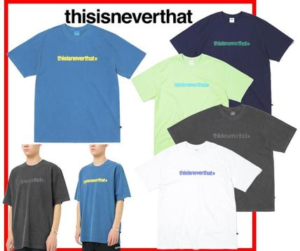 thisisneverthat More T-Shirts Unisex Street Style Cotton Long Sleeve T-shirt T-Shirts