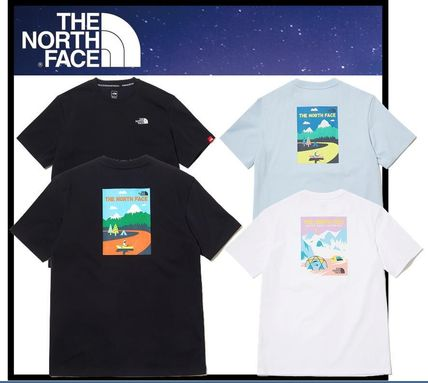 THE NORTH FACE More T-Shirts Unisex Street Style Short Sleeves Outdoor T-Shirts