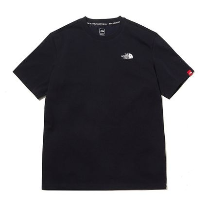 THE NORTH FACE More T-Shirts Unisex Street Style Short Sleeves Outdoor T-Shirts 3