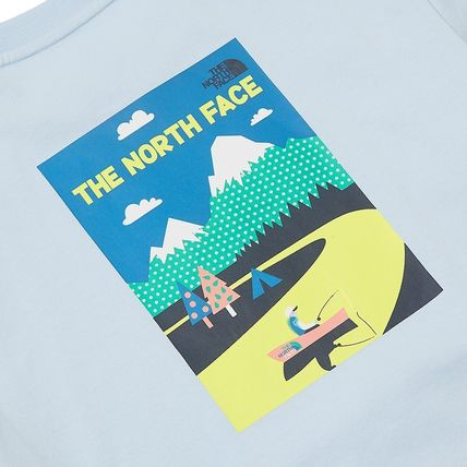 THE NORTH FACE More T-Shirts Unisex Street Style Short Sleeves Outdoor T-Shirts 11