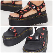 Dr Martens Open Toe Rubber Sole Casual Style Collaboration Shoes