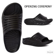 OPENING CEREMONY Open Toe Casual Style Shower Shoes Flip Flops Flat Sandals