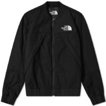 THE NORTH FACE Black Series Unisex Street Style MA-1 Logo Bomber Jackets