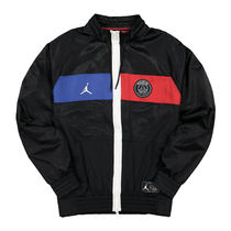 Nike AIR JORDAN Street Style Collaboration Logo Track Jackets