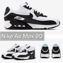 Nike AIR MAX 90 Rubber Sole Casual Style Logo Low-Top Sneakers