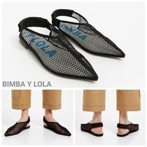 bimba & lola Plain Elegant Style Pointed Toe Shoes