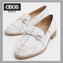 ASOS Casual Style Tweed Loafer & Moccasin Shoes