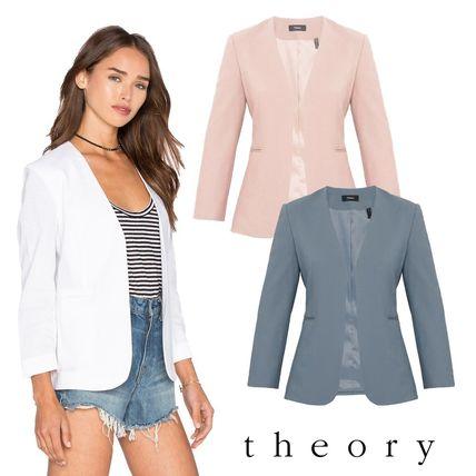 Casual Style Plain Office Style Elegant Style Icy Color