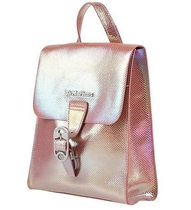 Dr Martens Casual Style Leather Glitter Logo Backpacks